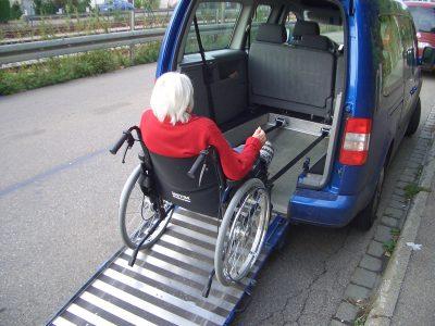 Fahrdiensst Rollstuhl Illertisssen